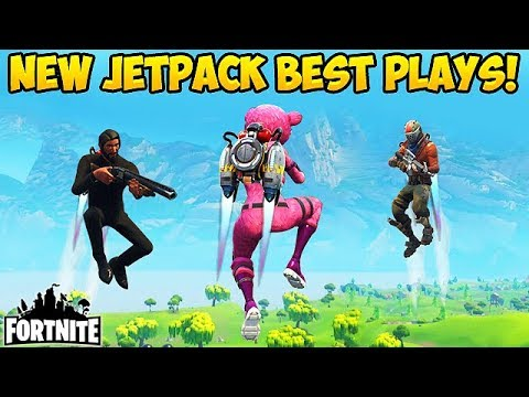 *NEW* JETPACK BEST PLAYS! - Fortnite Funny Fails and WTF Moments! #203 (Daily Moments)