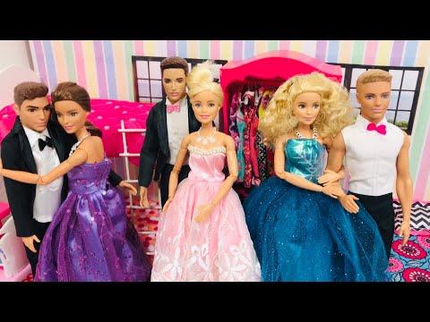 Barbie and Friends Fun! Dance! Barbie Truck!