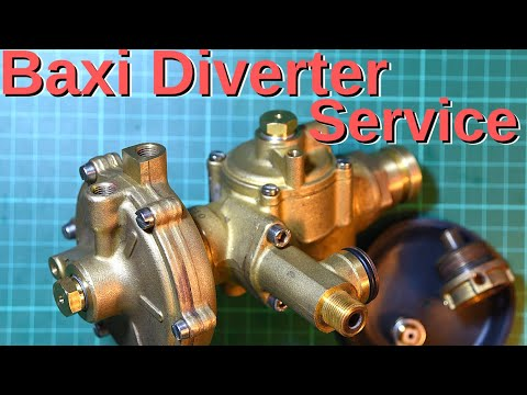 Baxi Diverter How to service, Start to finish Dr Pipe.