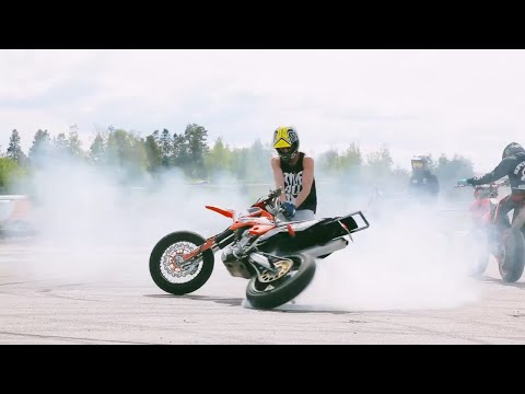 Supermoto Is Awesome 2014! Stunts & More!