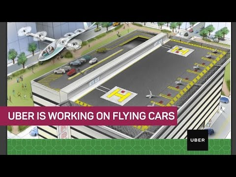 Uber's serious about flying cars