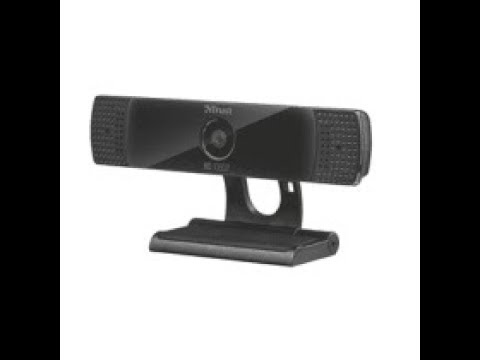 Trust 1080p HD Web Cam Unboxing And Review
