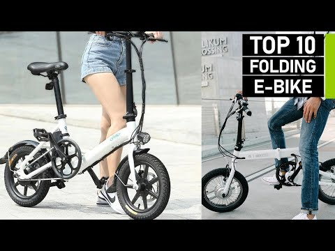 Top 10 Most Powerful Folding Electric Bikes To Buy