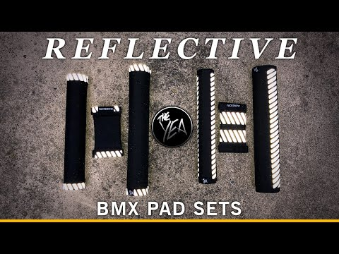 The Yea BMX: Reflective BMX Pad Set