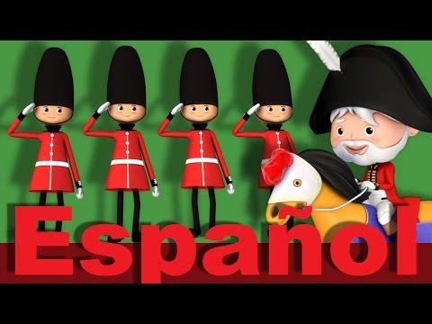 El gran duque de York | Canciones infantiles | LittleBabyBum