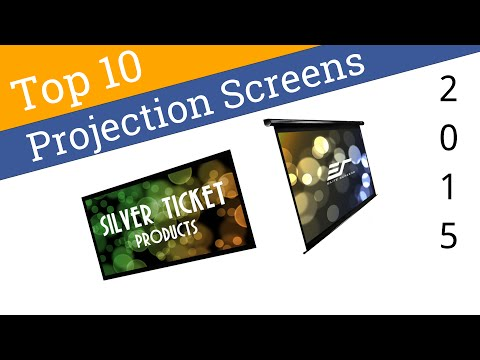 10 Best Projection Screens 2015