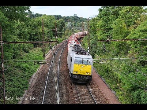 Spot à Poitiers : Fret SNCF/ECR, TER, TGV Et Inter-cité