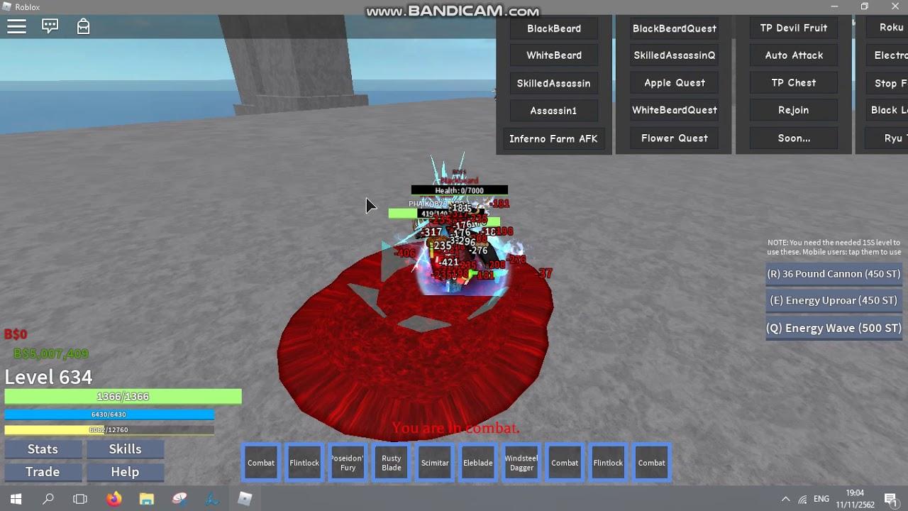 Roblox One Piece Open Seas Hack Update Script Auto Quest Youtube