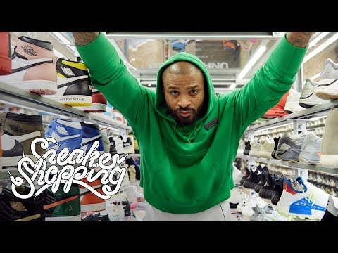 PJ Tucker Returns For Sneaker Shopping With Complex
