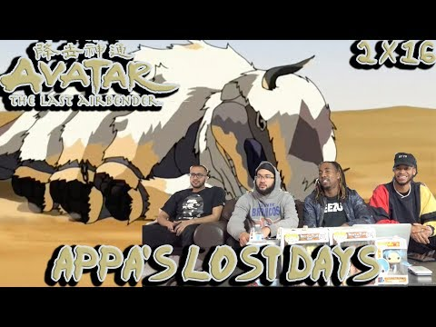 """WHERES APPA?! Avatar The Last Airbender 2 X 16 """"Appa's Lost Days"""" Reaction/Review"""