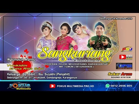 LIVE CS SANGKURIANG//THE WEDDING YUNKIDIN & ERMA//FOKUS Multimedia//SEKAR ARUM Sound