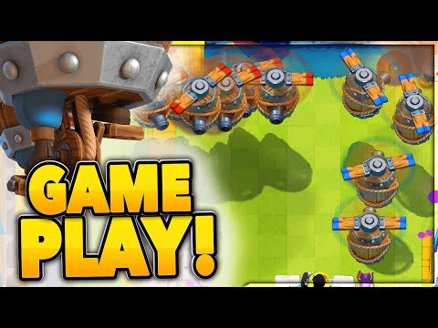 FLYING MACHINE GAMEPLAY - NEW CLASH ROYALE CARD!