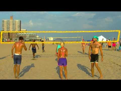VballNY: Final of Tournament on Brighton Beach