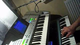 keyboard-Bartezz-On the Move( my cover synth techno dance keyboard Tyros Motif xs Virus Ti)