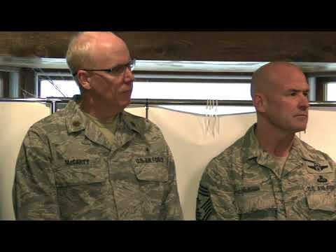 180320_106th Rescue Wing Public Affairs Officer holds media update