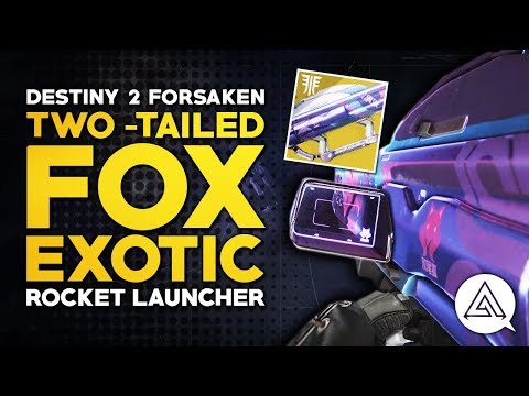 Destiny 2 | TWO-TAILED FOX Exotic Rocket Launcher Showcase, Perks & Tips