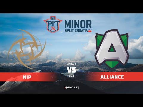 NiP vs Alliance - OGA Dota PIT Minor - Game 2
