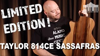 Taylor Guitars Limited Edition 814ce with Blackhearted Sassafras | Full Review and Comparison