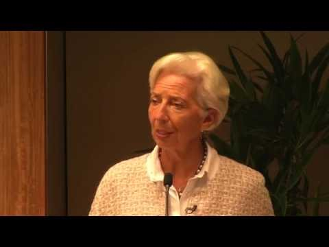 Redoubling our Resolve for Global Development: A Conversation with Christine Lagarde