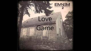 Eminem Ft Kendrick Lamar Love Game