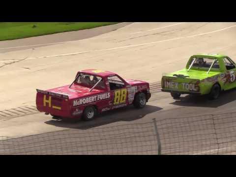 Delaware Speedway, Trucks, Sept. 18, 2016