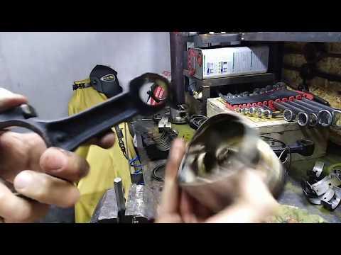 7.Выпрессовка пальцев подручными средствами без пресса и молотка