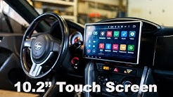 "10.2"" Touch Screen Radio In FRS/BRZ"