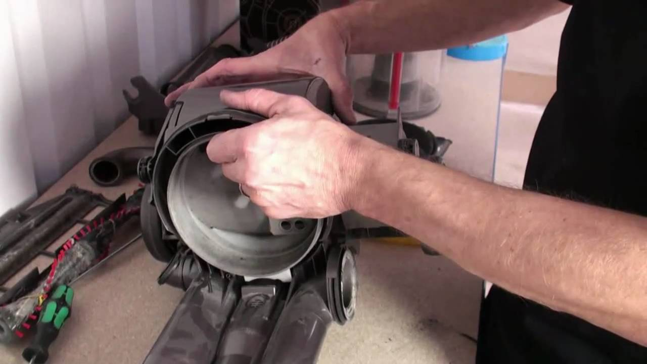 how to replace and fit a dyson motor dc14 dc07 youtube