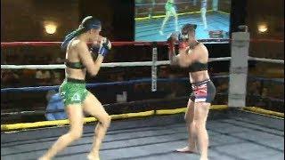 Brittney vs. Haley - (2018.08.18) - /r/WMMA