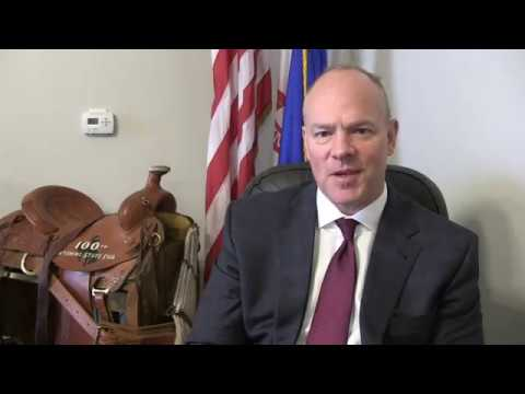 Wyoming Governor Matt Mead talks about The Upcoming Solar Eclipse