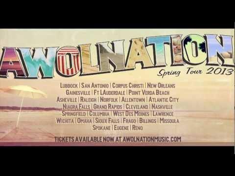 AWOLNATION Spring Tour 2013
