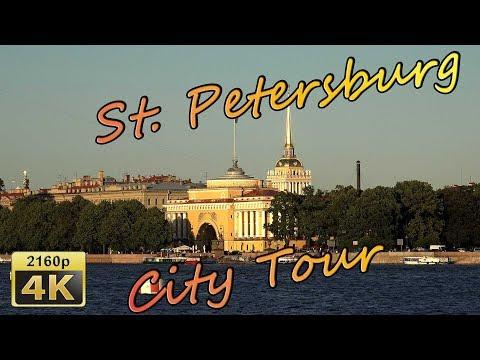 Saint Petersburg, City Tour by Car - Russia 4K Travel Channel