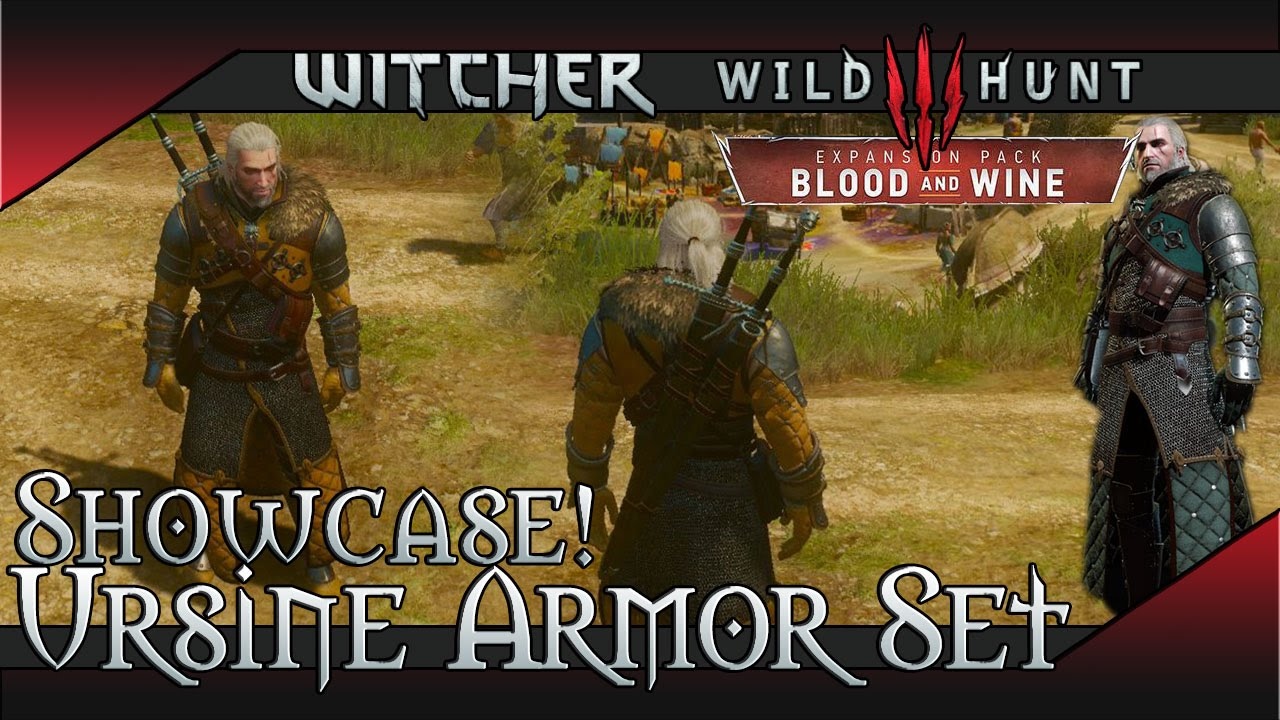 The Witcher 3: Blood and Wine Guide – Armor Sets, Diagram Locations