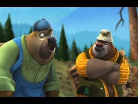 Медведи-соседи 🐻 | 1 сезон 24 серия | Помощники лесоруба | Мультики детям