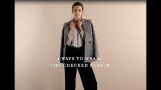 3 Ways To Wear A Checked Blazer | Reiss