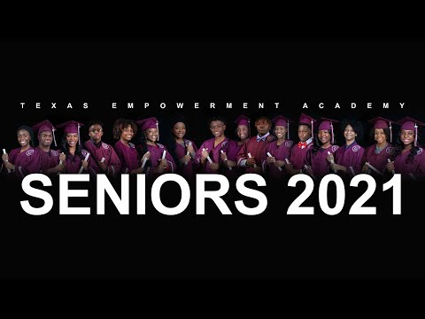 2021 Texas Empowerment Academy Graduation Ceremony