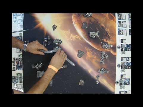 Star Wars Armada Monthly Event Chris Perez vs Paul Lawrence