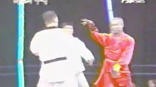 LUTA RARÍSSIMA (SHAOLIN KUNG FU VS, TAE KWON DO) - MMA