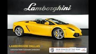 Lamborghini Gallardo LP 550 2 Spyder 2012 Videos