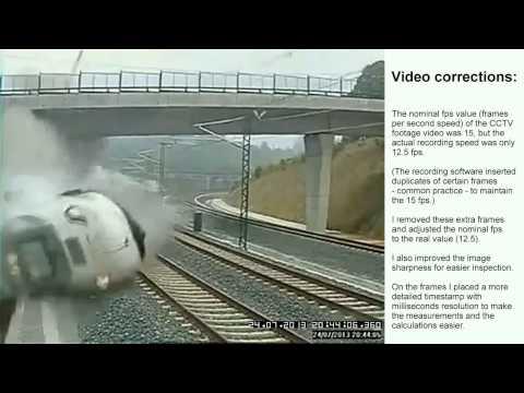 Spanish train crash at Santiago de Compostela (2013-07-24, analysis by DcsabaS)