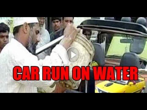 Download WATER CAR: Mechanic from MP designs a car which run on water