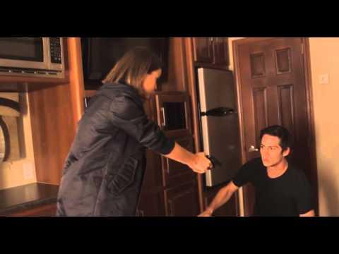 Shelley Hennig pulls a deadly prank on Dylan O'Brien