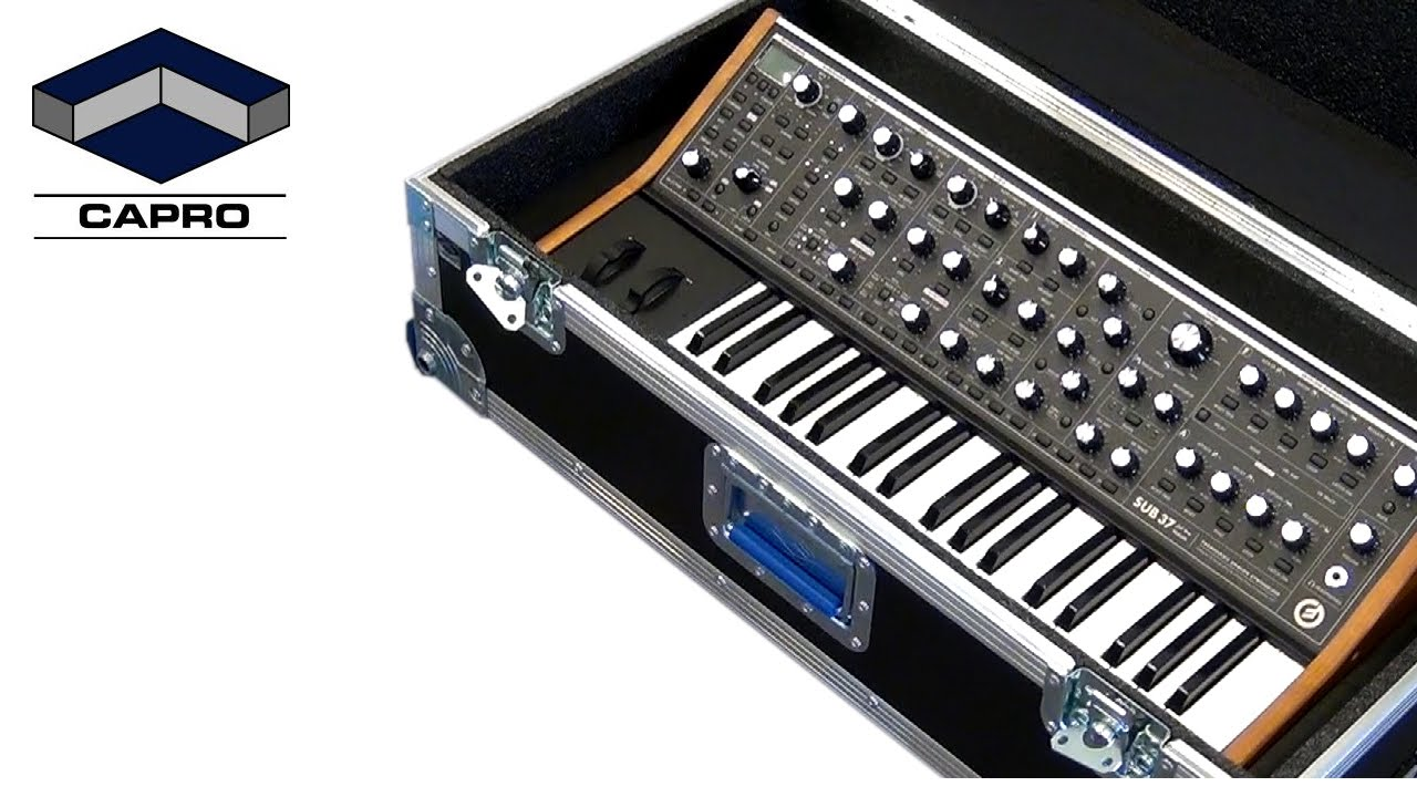 The sub 37 tribute is a limited edition analog synthesizer created in honor of moog music founder dr robert moog, his passion for education, and his love of.