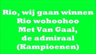 Gerard Joling - 'Rio' [Lyrics Video]