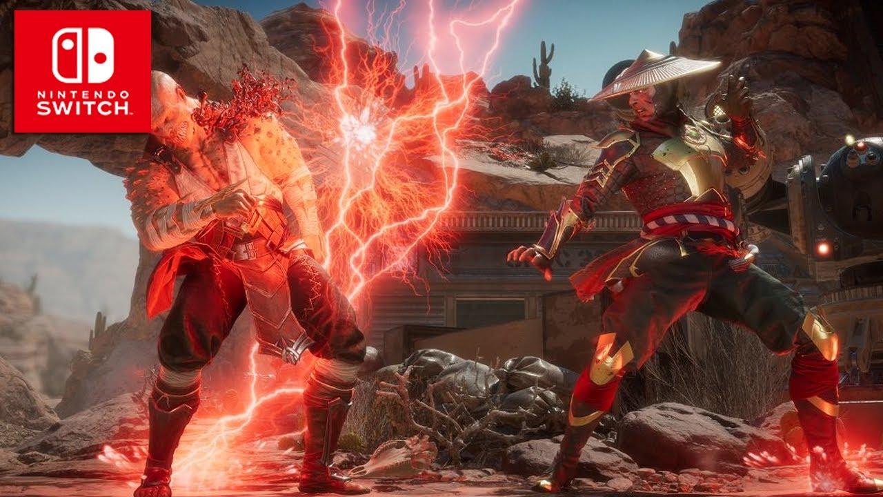 Mortal Kombat 11   Gameplay Trailer   Upcoming Nintendo Switch