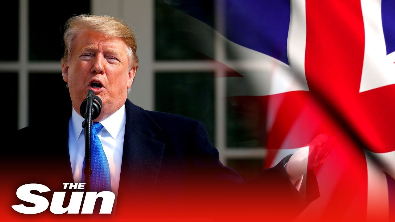 Trump: trade with UK will BOOST after Brexit