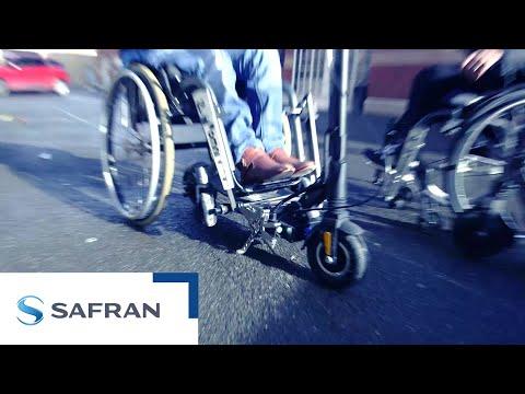 La Fondation Safran et OMNI améliorent la mobilité des personnes en fauteuil roulant
