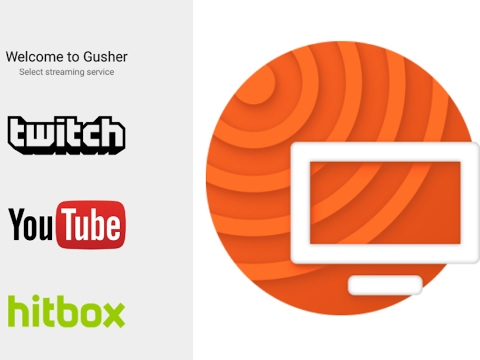 gusher screen broadcaster