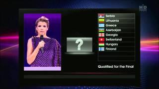 Алексей Воробьев ругается матом на Евровидении 2011