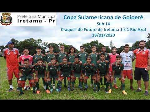 Copa Internacional de Goioerê Sub 14 / Craques do Futuro 1 x 1 Rio Azul